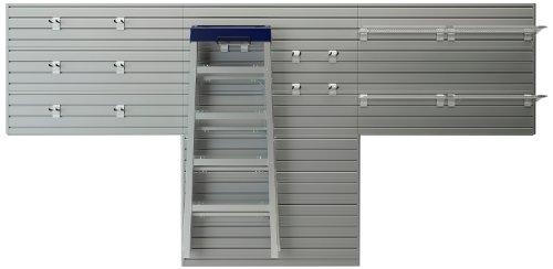 Flow Wall FWS-4812-12SB2 Bonus Hook Starter Pack Model for Garage Organization Systems Silver