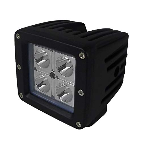 "Carpartsinnovate For 1PC 4 Cree LED 3"" Square Cube Spot Beam 16W Daytime Driving Light Fog Lamp"