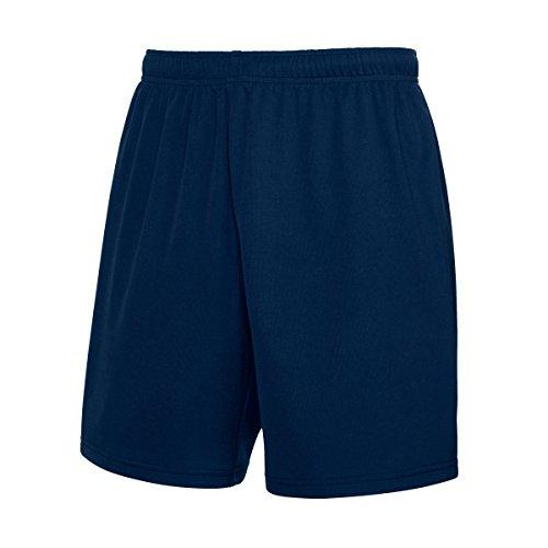 Fruit of the Loom - Pantalones Cortos de Deporte Transpirables Modelo Sports Performance Hombre Caballero (2XL) (Azul Oscuro)