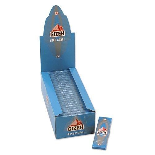 Zigarettenpapier Gizeh Special 50 Heftchen à 50 Blättchen