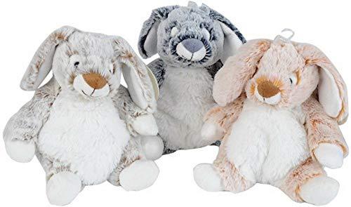 Simba 6305844394 – Nicotoy Peluche Lapin, de 3 Assorties