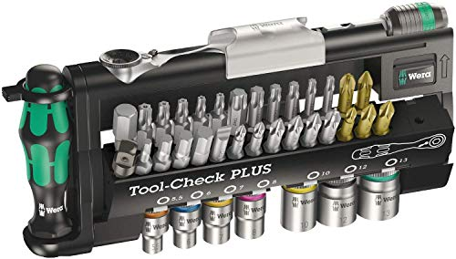 Wera Tool-Check Plus Bit Ratchet Set with Sockets $65.58