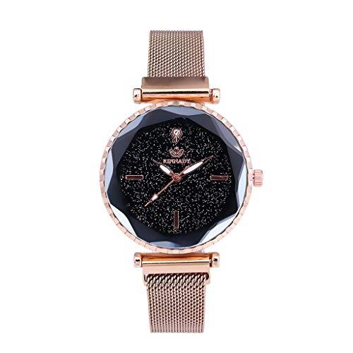 Relógio estrela com pulseira analógica de quartzo AxiBa Ms.