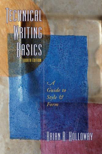 Technical Writing Basics (4th Edition)