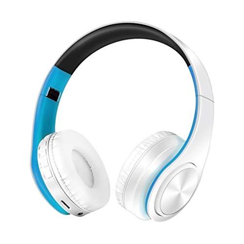 teng hong hui Bluetooth5.0 Faltable Bluetooth5.0 Auriculares Música Sobrecarga Stereo Sports HiFi...