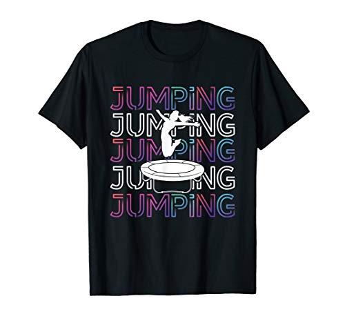 Jumping Trampolin Trendsport Fitness Jumpen Jump Sport T-Shirt