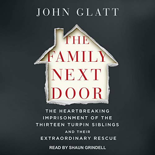 The Family Next Door audiobook cover art