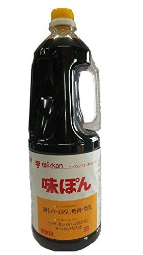ミツカン 味ぽん 1.8L PET(業務用) ×6個