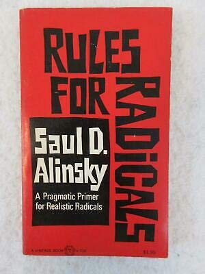 Saul D. Alinsky RULES FOR RADICALS 1972 Vintage Books, PAPERBACK First Printing