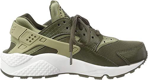 Nike Damen Air Huarache Run Laufschuhe, Mehrfarbig (Neutral Olive/Cargo 201), 36.5 EU