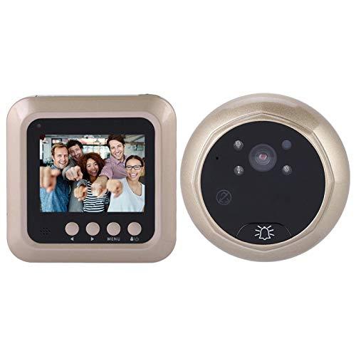 Socobeta 2.4 Pulgadas 1080P Timbre eléctrico Inteligente Tft Mirilla Digital con cámara...
