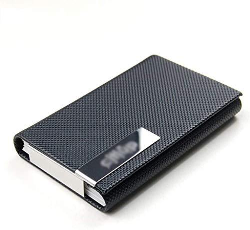 Archivadores Adopta Cuadro Cap Invisible Diseño Tarjeta de crédito Paquete magnética Hebilla clásica del Enrejado de Metal Tarjetas de Visita - 9.3x6.2cm Caja de Archivo