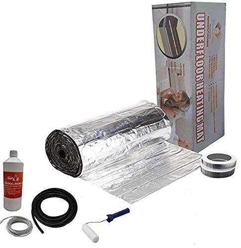 Nassboards Premium Pro - Kit Élite Aluminio de Calefacción Eléctrica Por Suelo Radiante de 150 W - 7.0m²