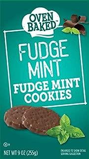 Oven Baked Fudge Mint Cookies, 9 oz