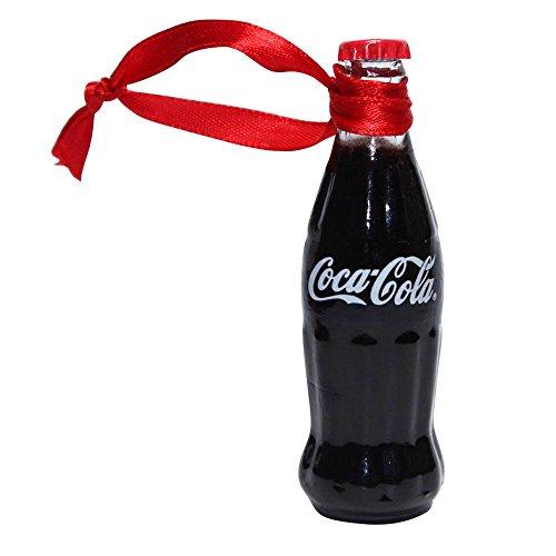 Coca-Cola Filled Mini Bottle Ornament