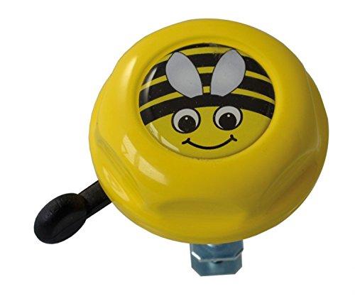 Reich Unisex– Erwachsene Biene Fahrradklingel, gelb, 1size