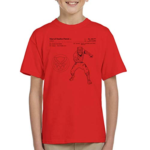 Marvel zwart Panter patent klauw pak kind T-Shirt
