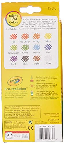 Crayola 68-4012 Colored Pencils, 12-Count, Pack of 2, Assorted Colors