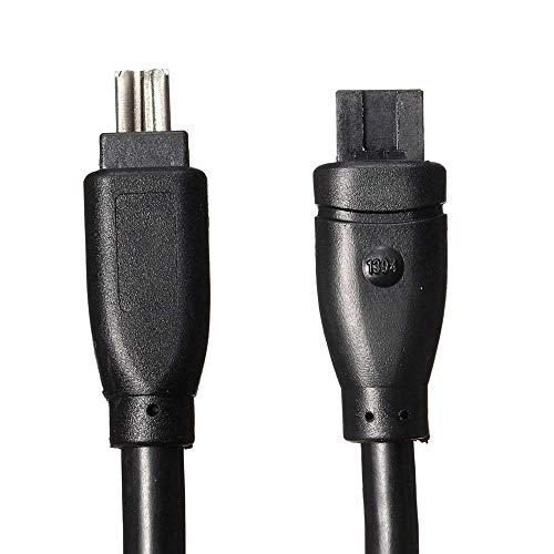 Miwaimao 1.8M High Speed Firewire 800 IEEE1394 B 9Pin to 4 Pin...