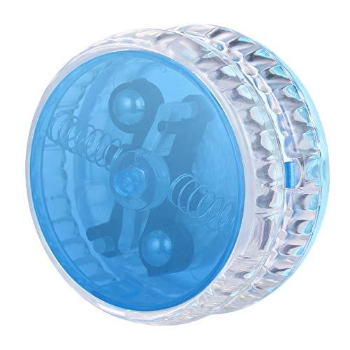 NUOBESTY LED Leuchtet Jo-Jo 1Pc 5. 7X5. 7X3 cm Blitz Jo-Jo Führte Blaue Farbe Trick JoJo Pädagogische Spielzeug Schnur Jo-Jo Ball für Kinder Teenager Kleinkinder