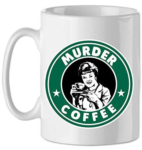 Tazza La Signora in Giallo Murder Coffee - Serie TV Cult Anni 80 - Murder She Wrote - Jessica Fletcher