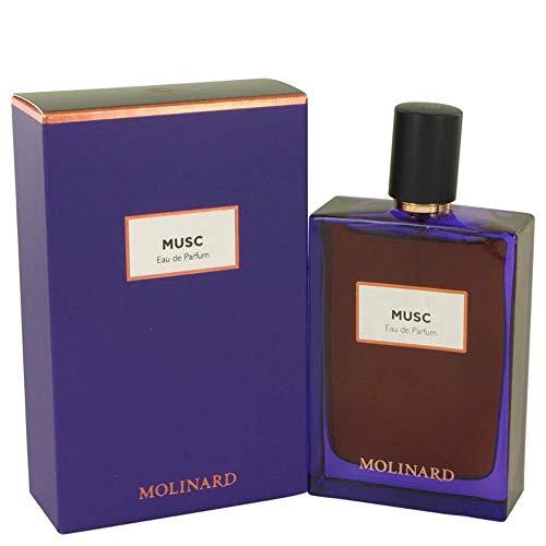 Molinard Eau de Parfum Violet EU 75 Musc, 75 ml , 1 Unité