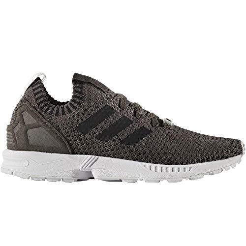 adidas Herren ZX Flux Primeknit Sneaker Grau, 44