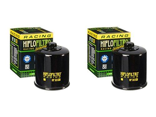 Hiflo Filtro HF303RC Premium Racing filtro de aceite acceso (450 SP S), (700 AX), (450 Apache), (450 Warrior), (450 SP Sport), (450 SP SM Supermoto), Yamaha (YFM660 F-P, R, S, T,V Grizzly Auto 02-06))