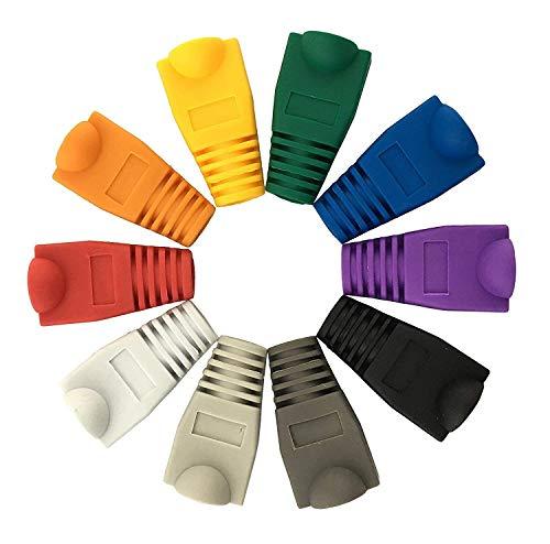 RJ45 Cubierta para botas de plástico suave Ethernet, enchufe de red de...