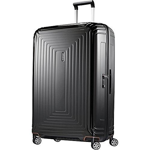 Samsonite Neopulse Hardside Luggage, Metallic Black, Checked-Large