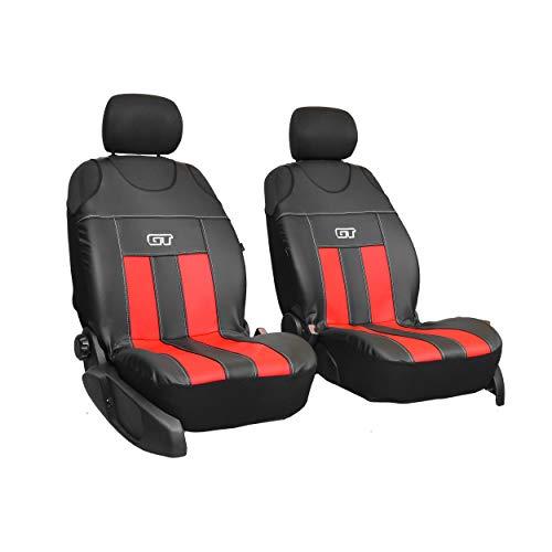 Coprisedili universali GT VANIL compatibili con BMW Serie 1 colore nero//beige coprisedili anteriori