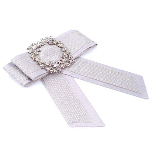 Fascigirl Papillon per Collo, Papillon da Donna Cravatta con Collo Pre Legato di Moda per La Festa Nuziale