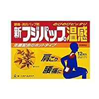 【第3類医薬品】新フジパップ温感 12枚 ×2