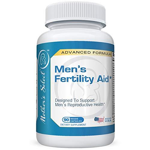 Compresse per la fertilità maschile di Mother's Select - Aiuta la motilità degli spermatozoi, contribuisce alla salute dell'apparato riproduttivo, incrementa i livelli di testosterone - Ingredienti naturali, 90 compresse vegetali, fornitura da 30 giorni