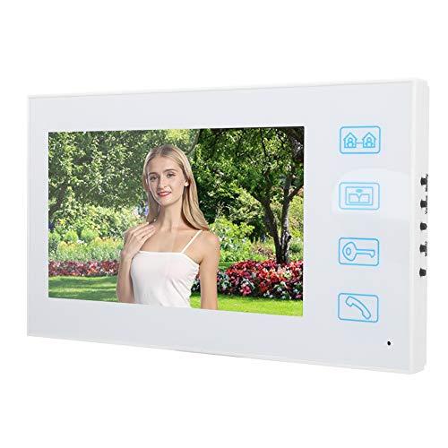 Sistema de videoportero, sistema de videoportero Tft Lcd de 7 pulgadas a color, para casas, hoteles, oficinas, villas, apartamentos(Transl)