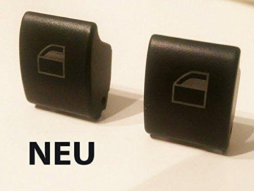 2 x gauche et droite Lève-vitre Interrupteur Bouton Poussoir Interrupteur Bouton pour BMW Série 3 E46