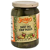 Sechler's, Pickle Candied Sweet Dill Strip, 16-Ounce (6 Pack)...