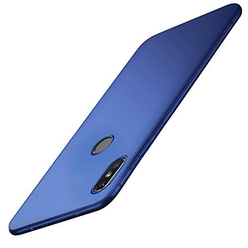 Vooway Blu Sottile Silicone Morbido TPU Custodia Cover Slim Case + Pellicola Protettiva Per Xiaomi Mi Mix 2s (5.99