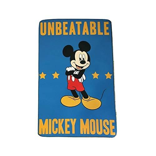 Tappeto Disney Topolino Cm 80 x 120 Antiscivolo per Cameretta Mickey