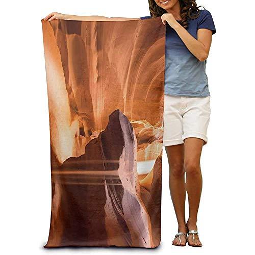 Toalla de Playa Wrap Canyon HD Toallas absorbentes de SPA de Secado rápido Traje de baño Toalla de baño y Ducha Manta de Playa