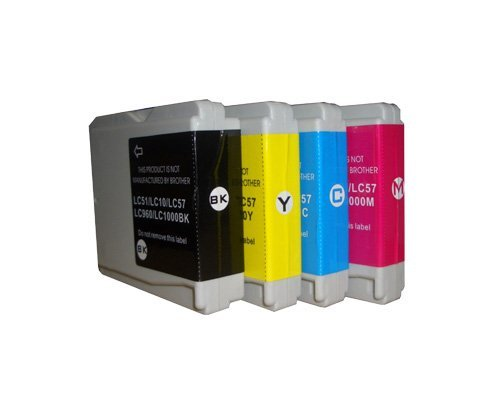 10x Druckerpatronen kompatibel für Brother LC 1000, MFC 240C/ 440CN/ 660CN/ DCP 130C/ 330C
