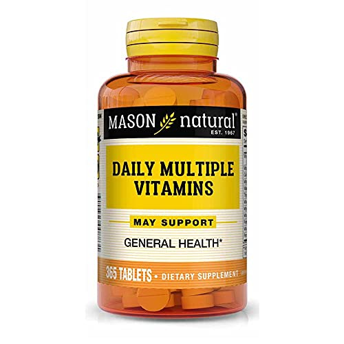 MASON NATURAL, Daily Multiple Vitamins Compare to ONE A Day Essentials®