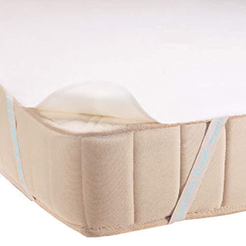 Baumwollehaus *HIT* MATRATZENSCHONER Matratzenschutz Wasserdicht Matratzenauflage Inkontinenz Frotte 11Größen (140x200)