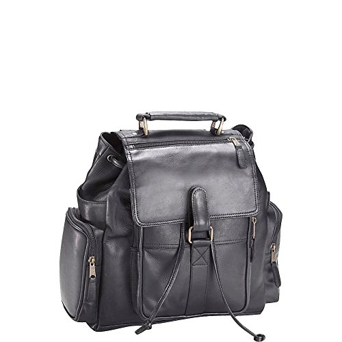 Clava Vachetta Leather Urban Survival Backpack (Vachetta Black)