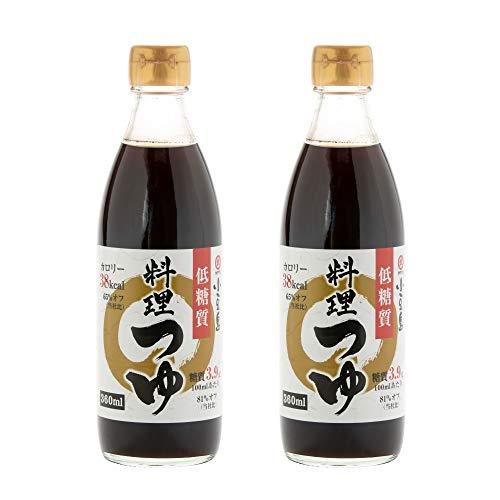[タケサン] だし醤油 (低糖質タイプ) 料理つゆ 360ml×2本 煮物/めんつゆ などに ×2本