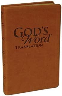 GOD'S WORD Handi-Size Text Saddle Duravella