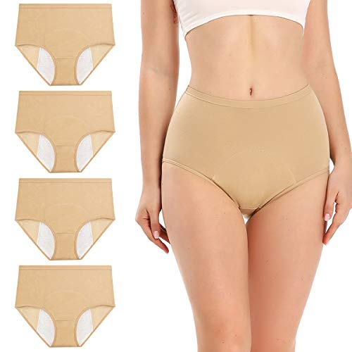 wirarpa Women's Period Panties Girl…