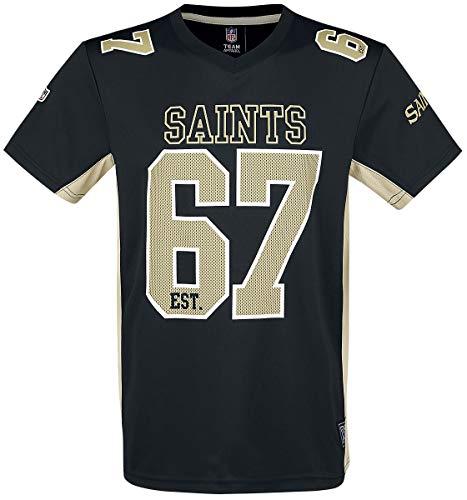 NFL New Orleans Saints T-Shirt schwarz L