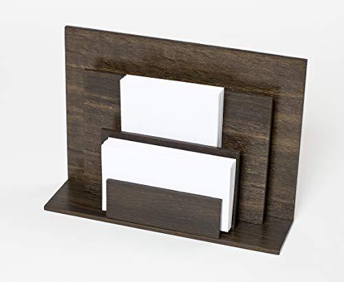 iWOODESIGN Luxuriöser Holz-Briefhalter...