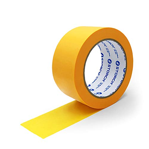 Storch SUNNYpaper Malerkreppband Klebeband - DAS GOLDENE UV MEDIUM 50 mm x 50 m (3 Stück)